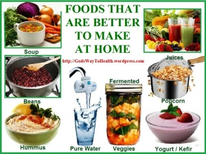 Foods better to prepare at home CLWS
