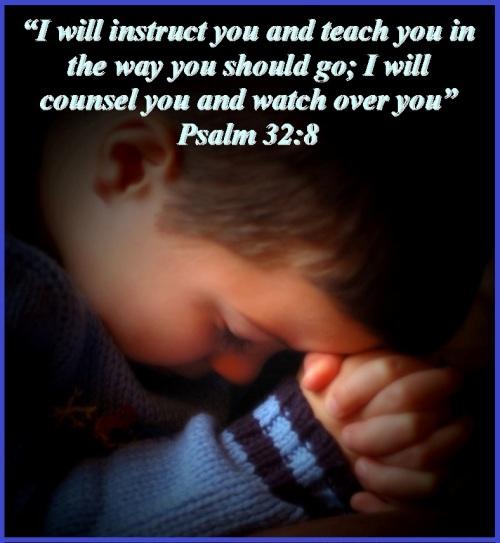 Praying before deciding - Psalm 32 vs 8