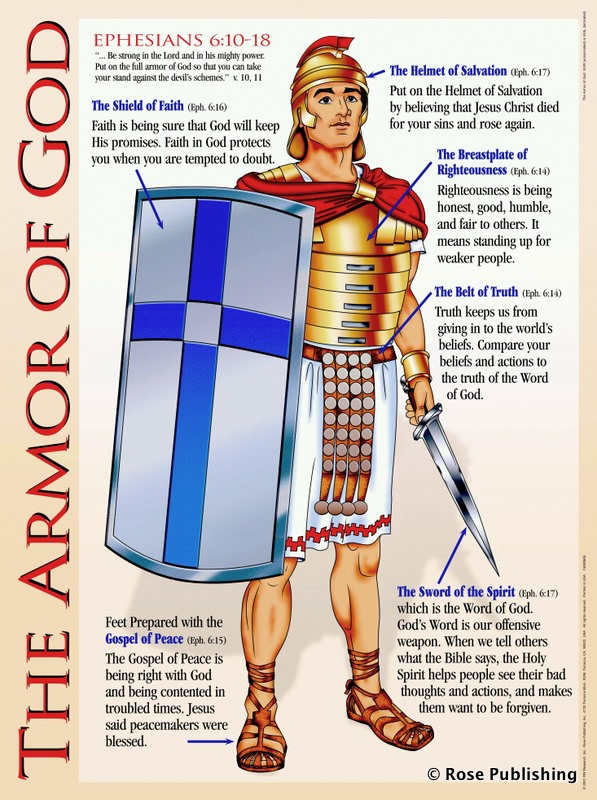 The Armour of God -  My Daily Strength in The Lord 1a-armor-of-god