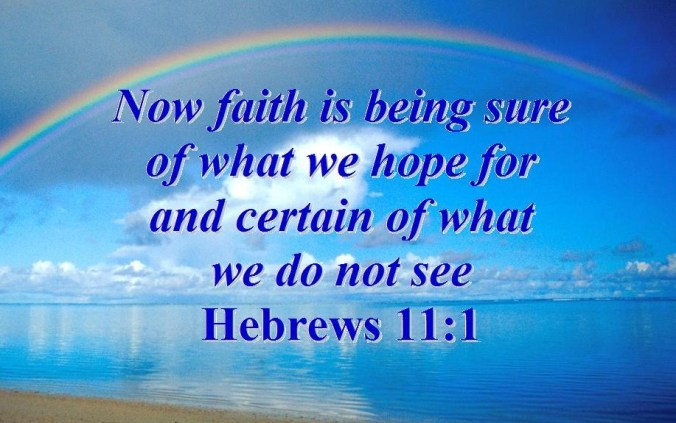 Image result for faith in Hebrews
