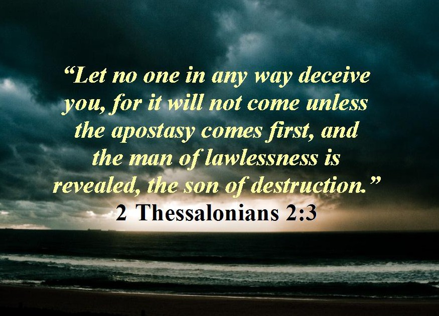 Image result for 2 thessalonians 2:3