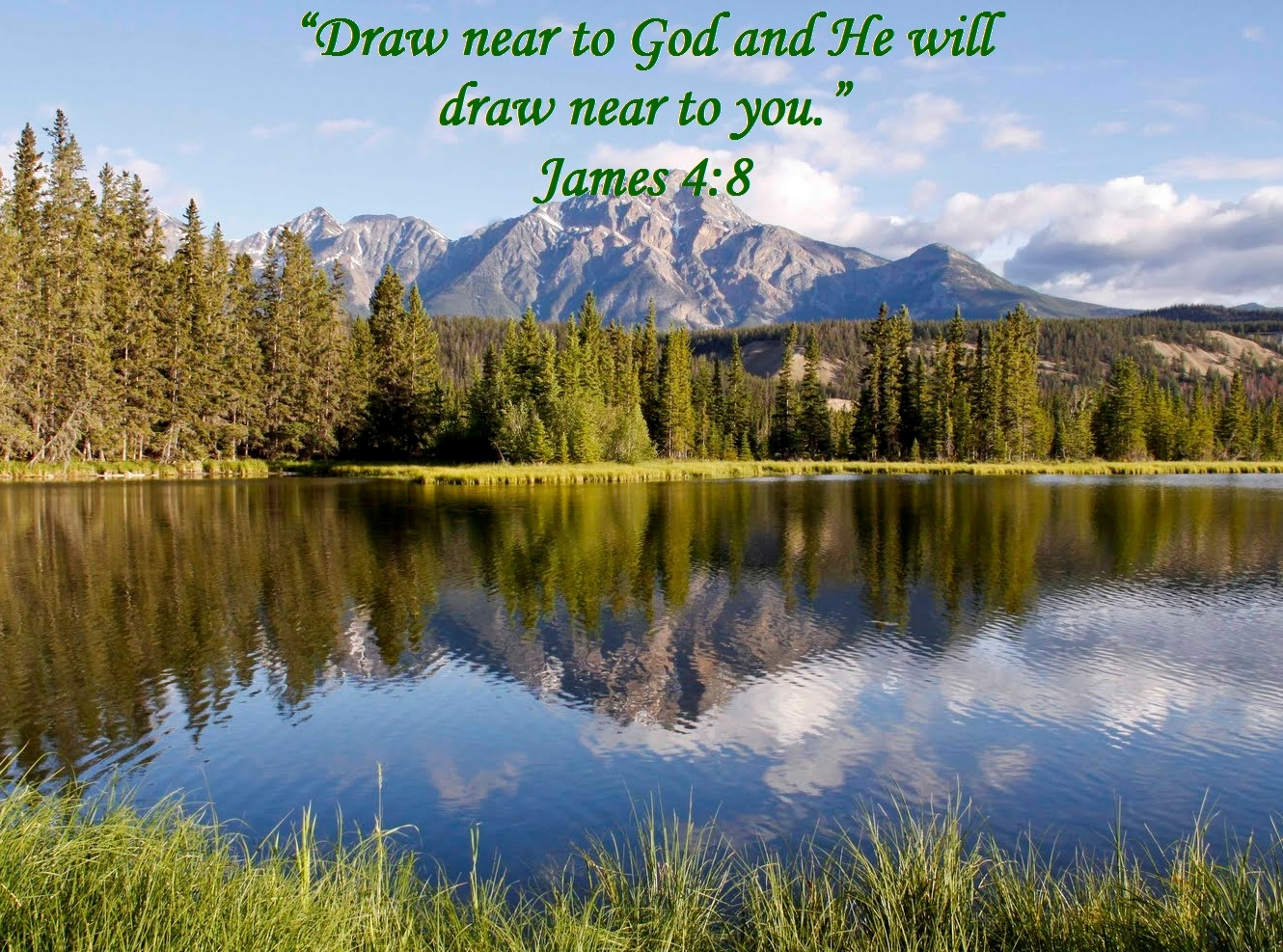 Draw Near To God And He Will Draw Near To You James 4 8 Mission