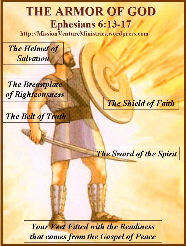 The Armor Of God Ephesians 6 13 17 Mission Venture Ministries