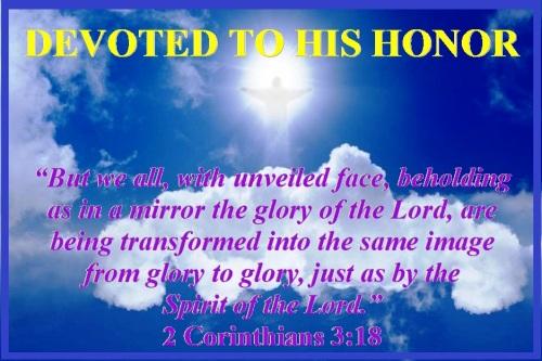 2 Corinthians 3 vs 18