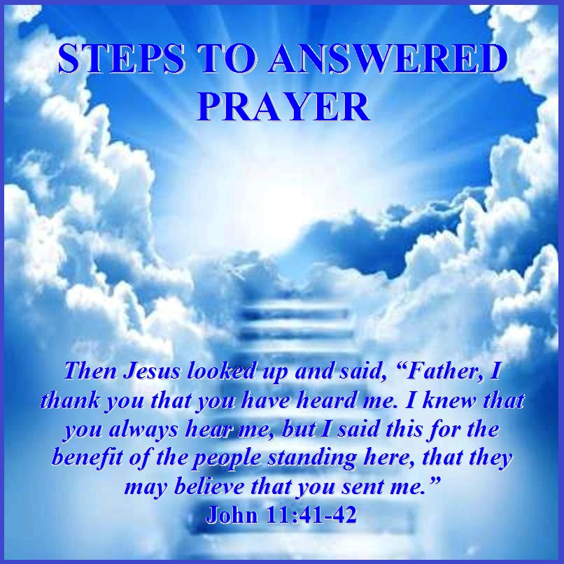 Share a Prayer Today Ministries: Chronical of Answered Prayer