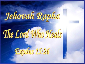 Image result for JEHOVAH RAPHA images