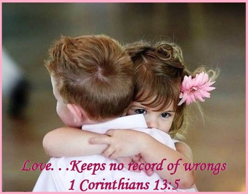 1 Corinthians 13 vs 5