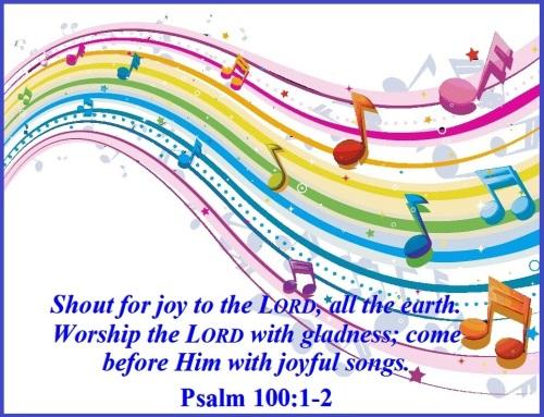 Psalm 100 vs 1-2