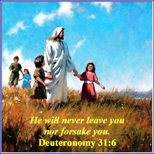Deuteronomy 31 vs 6