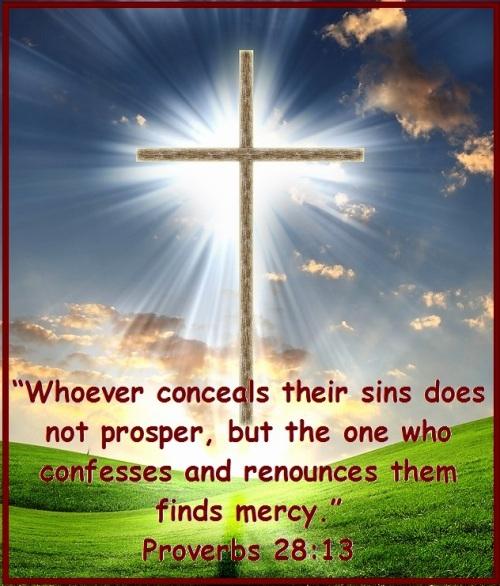 Proverbs 28 vs 13
