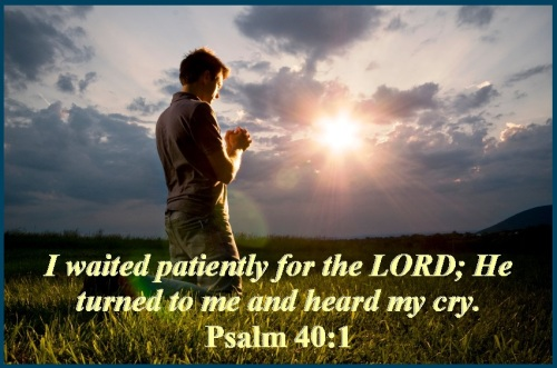 Psalm 40 vs 1
