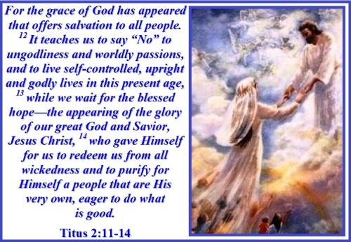 Titus 2 vs 11-14