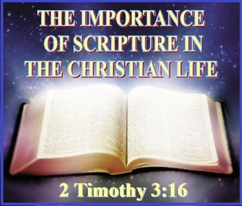 2 Timothy 3 vs 16