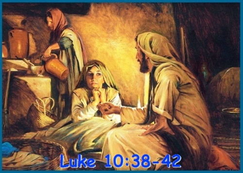 Luke 10 vs 38-42
