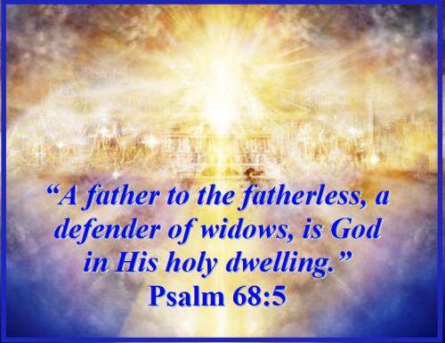 Psalm 68 vs 5