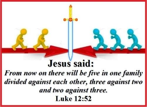 Luke 12 vs 52 (E)