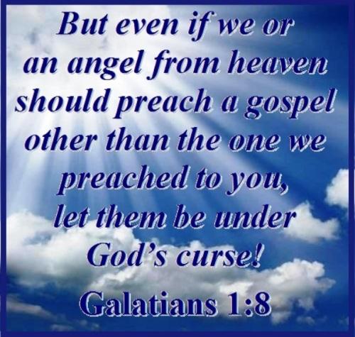 Galatians 1 vs 8