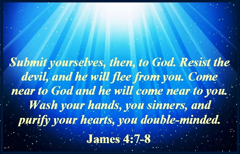 James 4:7-10 | Mission Venture Ministries