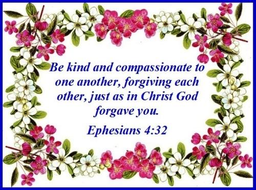 Ephesians 4 vs 32