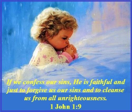 God forgives - 1 John 1 vs 9