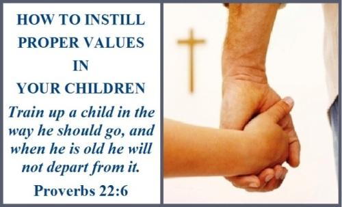 Proverbs 22 vs 6