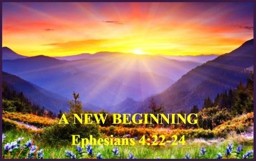 Ephesians 4 vs 22-24