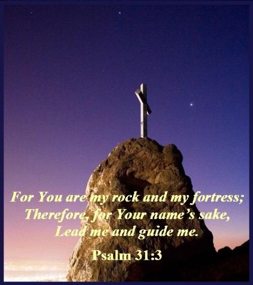 Psalm 31 vs 3
