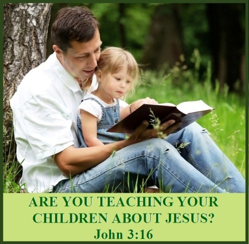 Are you teaching your children about Jesus