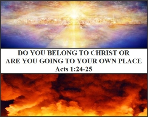 Acts 1 vs 24-25