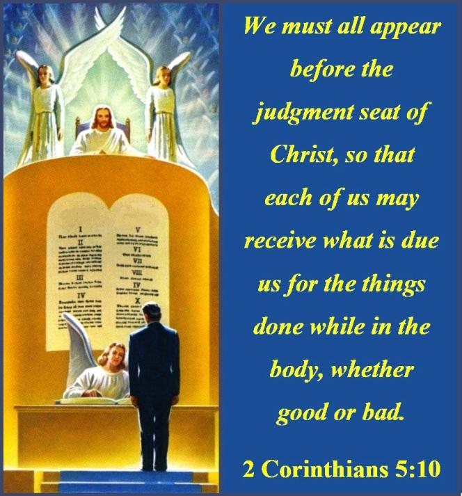 2 Corinthians 5 vs 10