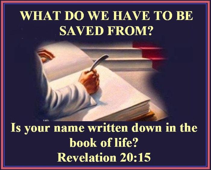 Revelation 20 vs 15
