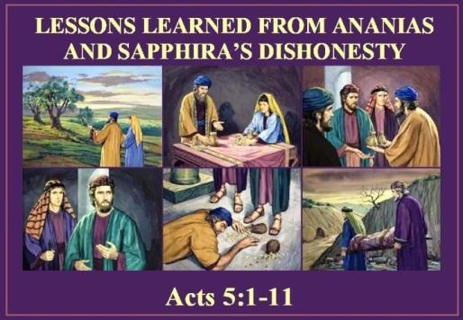 Acts 5 vs 1-11