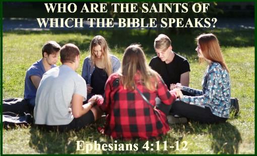 Ephesians 4 vs 11-12