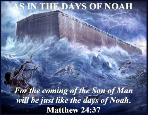 Matthew 24 vs 37