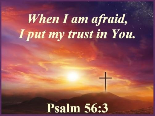 Psalm 56 vs 3